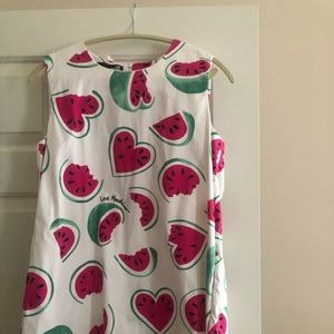 Moschino watermelon dress with pockets